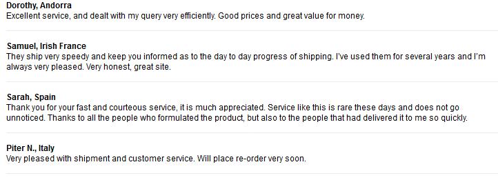 Online RX Customer Reviews